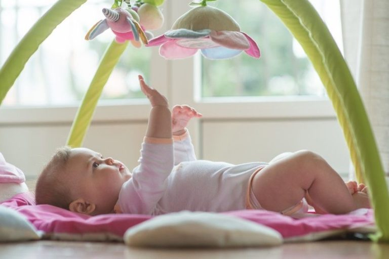 Entwicklungsschub-Baby